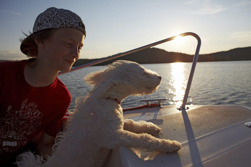 Båtliv. Foto: Jan Töve