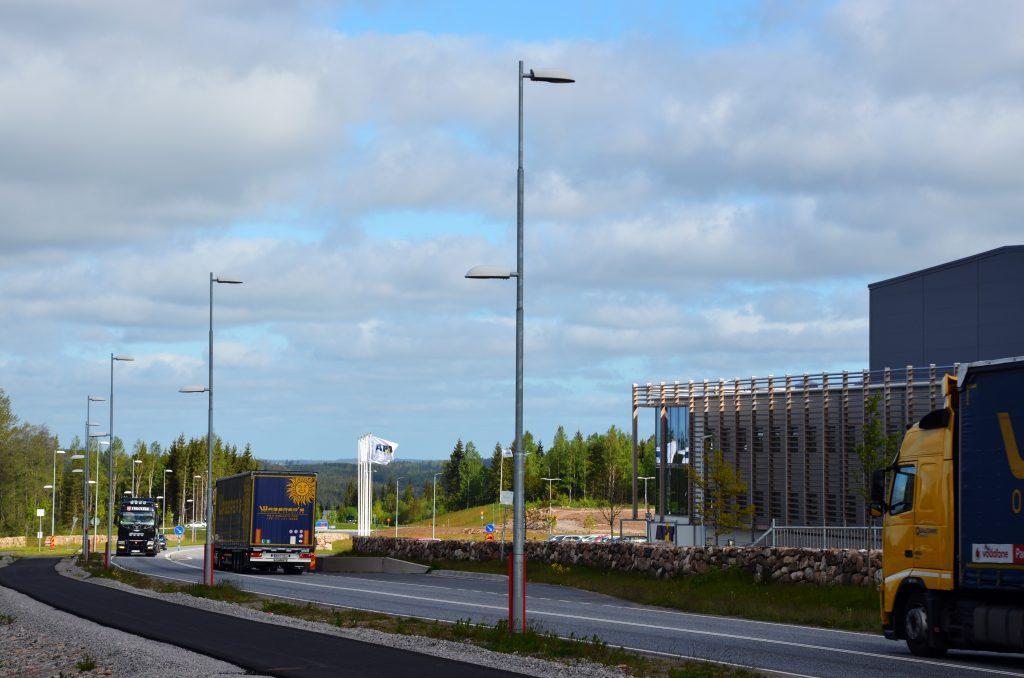 Rönnåsens industriområde. Foto: Charbel Sader