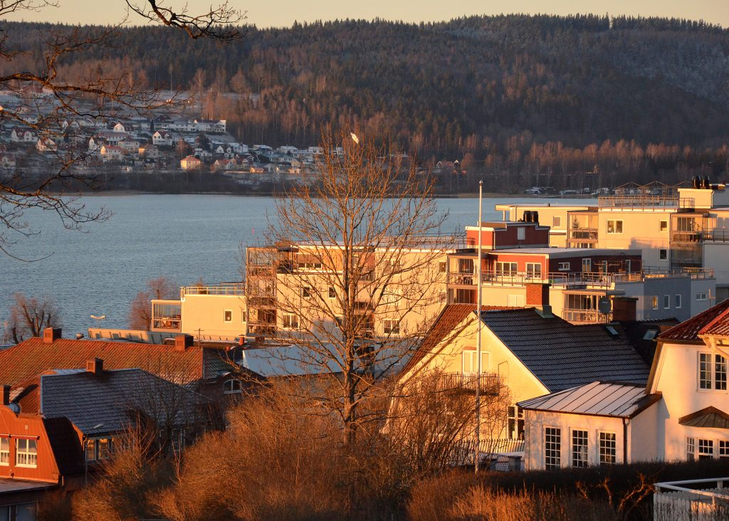Vy över Ulricehamn. Foto: Charbel Sader/Ulricehamns kommun
