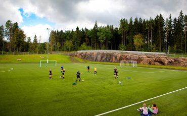Fotbollsplaner på Lassalyckan. Foto: Sören Håkanlind