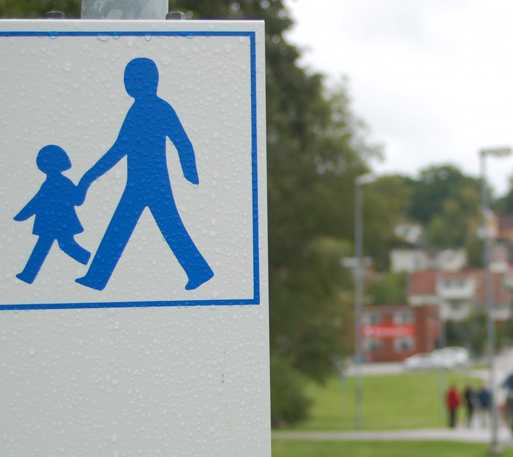 Promenadstråk i Ulricehamn