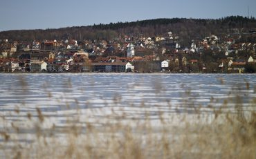 Ulricehamn vid Åsunden. Foto: Jan Töve