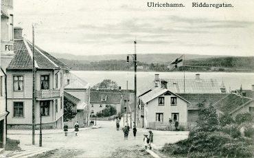 Gammalt foto från Riddargatan