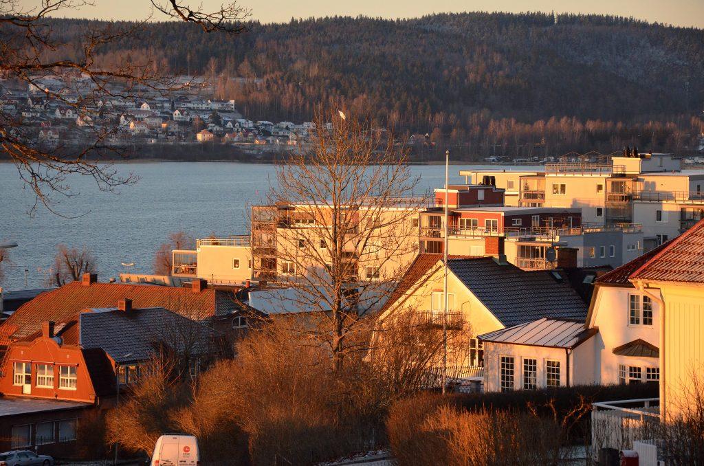 Bild över Ulricehamn.