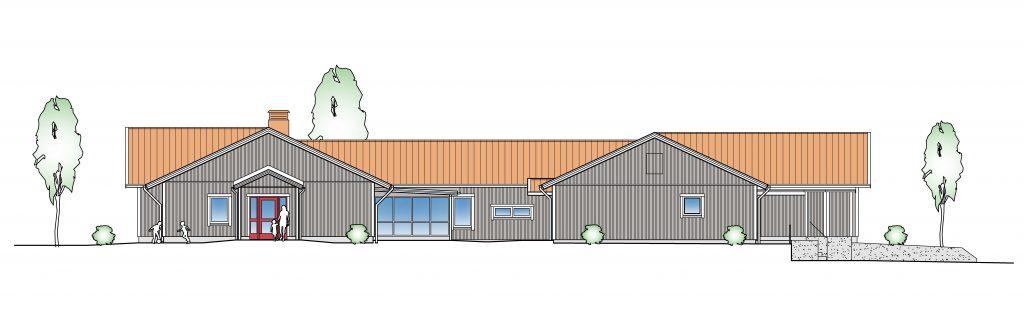 Hästhovens förskola skiss ombyggnation
