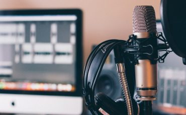 Microfon och hörlurar