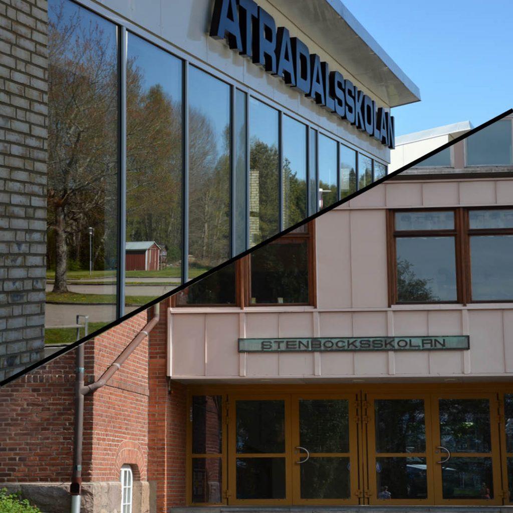 Ätradalsskolan och Stenbocksskolan